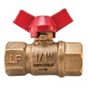 SMV Mini Ball Valve SMV LF Lead Free Mini Ball Valve