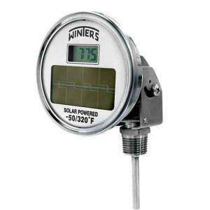 THS Solar Digital Bi Metal Thermometer
