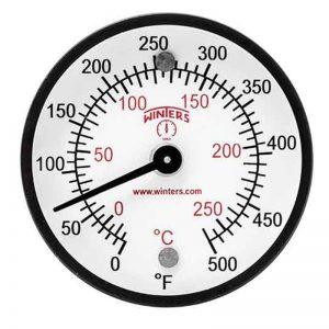 TMT Surface Magnet Thermometer