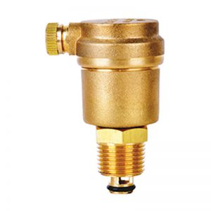 Brass Auto Air Vent (Threaded) With Detachable Check Valve PN16