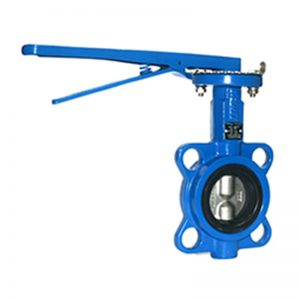 FTBW 160 Ductile Iron Concentric Wafer Butterfly Valve Lever Operated