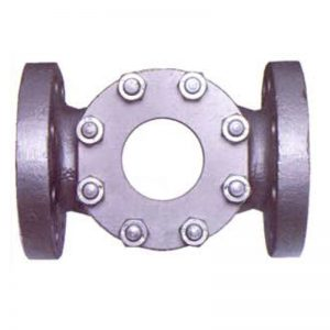 High Pressure Double Window Flanged Sight Flow Indicator