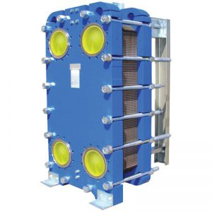 Semi-Welded Plate and Frame Heat Exchanger
